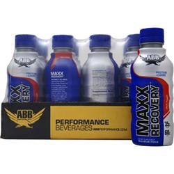 AMERICAN BODYBUILDING Maxx Recovery RTD Fruit Punch 12 bttls