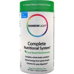 Rainbow Light Complete Nutritional System 180 tabs