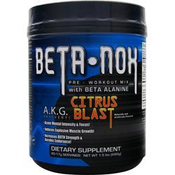 New Whey Nutrition Beta NOX - Pre-Workout Mix Citrus Blast 680 grams