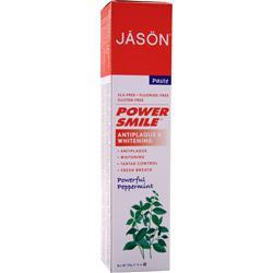 Jason Power Smile Toothpaste Powerful Peppermint 6 oz