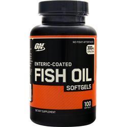 OPTIMUM NUTRITION Fish Oil (Enteric-Coated) 100 sgels