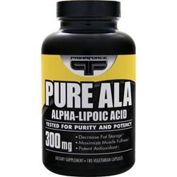 Primaforce Pure ALA (300mg) 180 vcaps