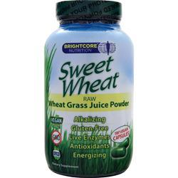 Ascend Sweet Wheat - Wheat Grass Juice 180 vcaps