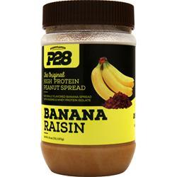 P28 Foods The Original High Protein Peanut Spread Banana Raisin 1 lbs