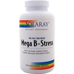 Solaray Mega B-Stress (Timed-Release) 240 vcaps