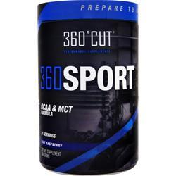360 Cut 360 Sport - BCAA and MCT Formula Blue Raspberry 384 grams