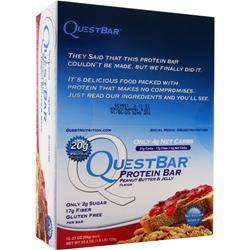QUEST NUTRITION Quest Bar Cookies & Cream 12 bars