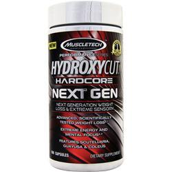 Muscletech Hydroxycut Hardcore Next Gen - Performance Series 100 caps