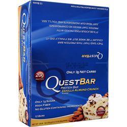 Quest Nutrition Quest Bar Vanilla Almond Crunch 12 bars
