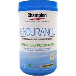 Champion Endurance Vanilla 1.1 lbs