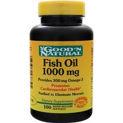 GOOD 'N NATURAL Fish Oil (1000mg) 100 sgels