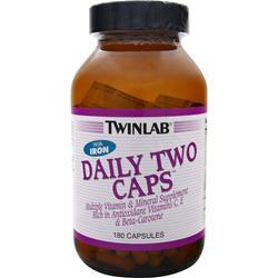 TwinLab Daily Two Multivitamin 180 caps