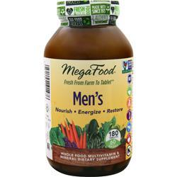 Megafood Men's Multi 180 tabs
