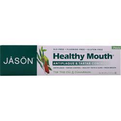 Jason HealthyMouth Tea Tree Toothpaste Tea Tree Oil & Cinnamon 4.2 oz