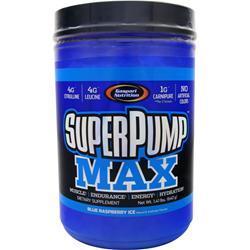 Gaspari Nutrition SuperPump Max Blue Raspberry Ice 1.41 lbs