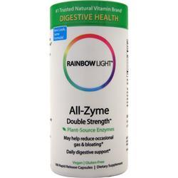 Rainbow Light All-Zyme Double Strength 180 vcaps