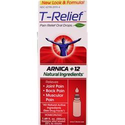 HEEL T-Relief - Pain Relief Oral Drops (Arnica +12) formerly Traumeel 1.69 fl.oz