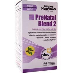 SUPER NUTRITION PreNatal Blend 2 180 tabs
