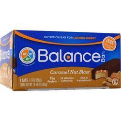 Balance Bar Balance Bar Caramel Nut Blast 6 bars