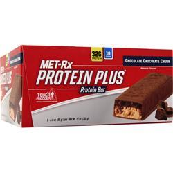 Met-Rx Protein Plus Bar Chocolate Chocolate Chunk 9 bars