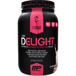 FitMiss Delight - Women's Premium Healthy Nutrition Shake Cookies 'n' Cream 2 lbs