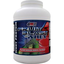 4 Ever Fit Fruit Blast the Whey Strawberry Kiwi 4.4 lbs