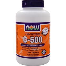 Now Chewable C-500 Orange 100 tabs