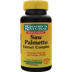 Good 'N Natural Saw Palmetto Complex Extract with Pygeum 120 sgels