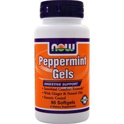 NOW Peppermint Gels 90 sgels