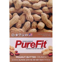 Purefit PureFit Nutrition Bar Peanut Butter Crunch 15 bars