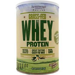 Reserveage Organics Grass-Fed Whey Protein Vanilla 720 grams