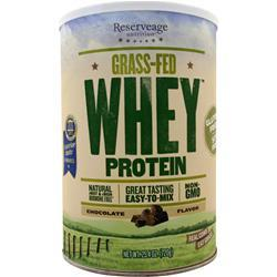 Reserveage Organics Grass-Fed Whey Protein Chocolate 720 grams