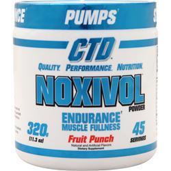 CTD Noxivol Powder Fruit Punch 320 grams