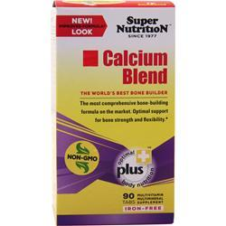 SUPER NUTRITION Calcium Blend (Iron Free) 90 tabs