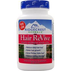 Ridgecrest Herbals Hair Revive Natural Defense for Women 120 vcaps