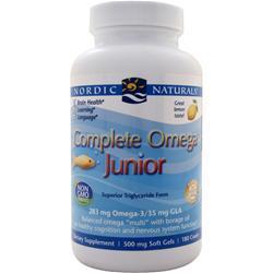 Nordic Naturals Complete Omega Junior Lemon 180 sgels