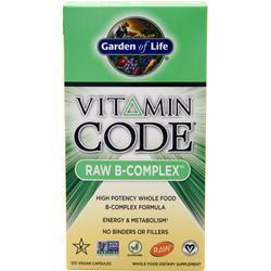 GARDEN OF LIFE Vitamin Code - Raw B-Complex 120 vcaps