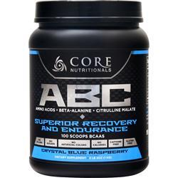 Core Nutritionals ABC - Superior Recovery and Endurance Crystal Blue Raspberry 1 kg