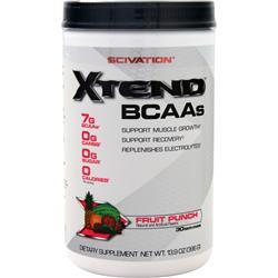 Scivation Xtend BCAAs Fruit Punch 396 grams