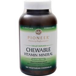 Pioneer Chewable Vitamin Mineral Fruit Flavor Multi 180 chews