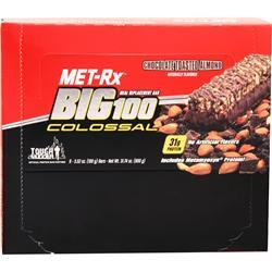 Met-Rx Big 100 Colossal Bar Chocolate Toasted Almond 9 bars