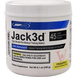USP LABS Jack3d - Advanced Formula Pineapple 8.1 oz