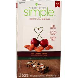 Zone Perfect Perfectly Simple Bar Bing Cherry & Almond 12 bars