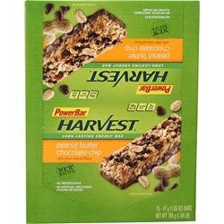 PowerBar Harvest Bar Peanut Butter Choc. Chip 15 bars