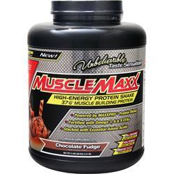 Muscle Maxx High-Energy Protein Shake Chocolate Fudge 5 lbs