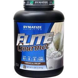 Dymatize Nutrition Elite Gourmet Protein Cookies and Cream 5 lbs