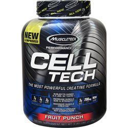 Muscletech Cell Tech Performance Series - Creatine Formula Fruit Punch 6 lbs