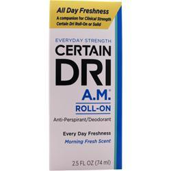 DSE Healthcare Certain Dri A.M. Morning Fresh 2.5 fl.oz