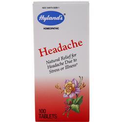 Hylands Homeopathic Headache 100 tabs