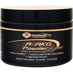 Olympian Labs A-AKG Powder - Arginine Alpha-Ketoglutarate 90 grams